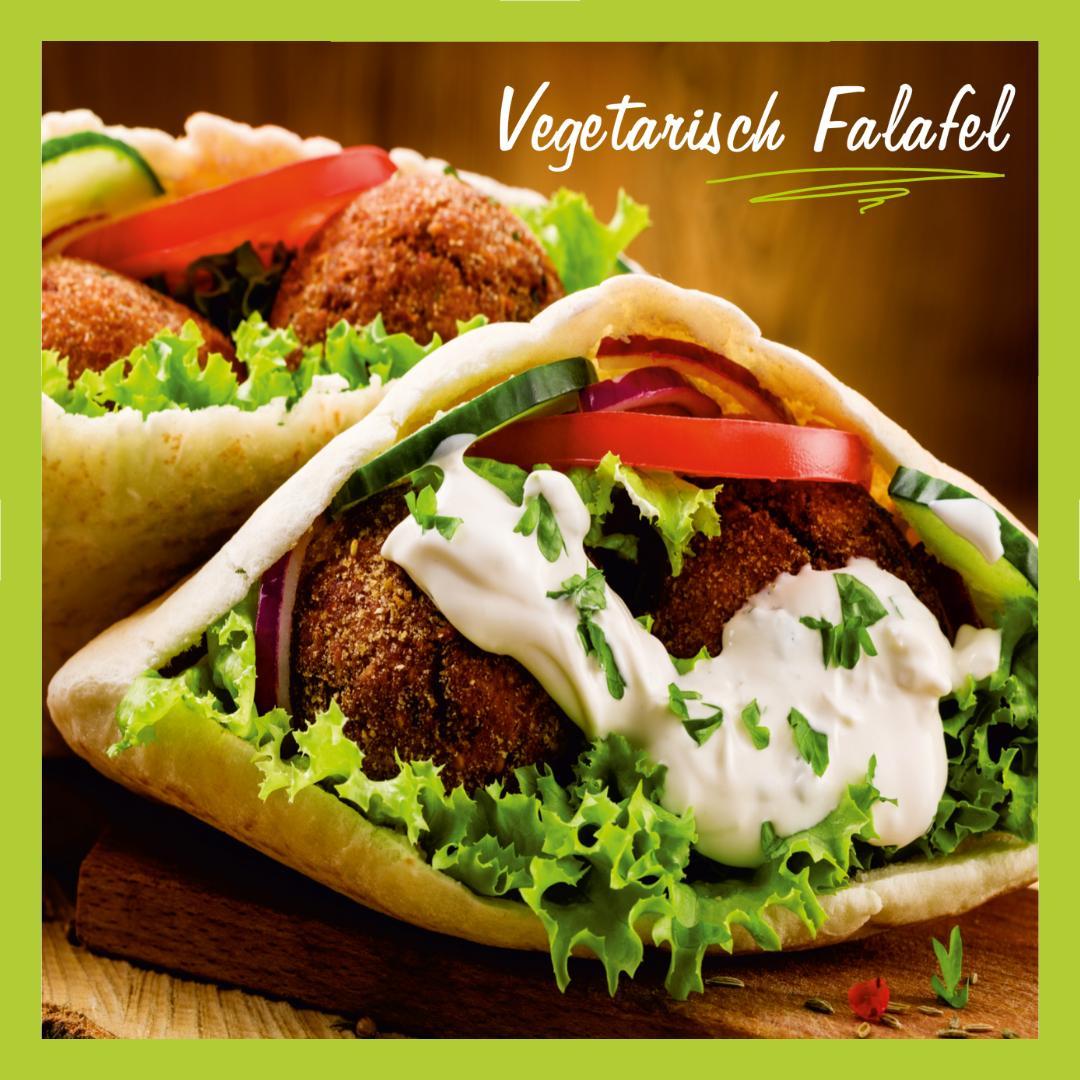 Vegetarisch Falafel